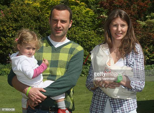 Jools Oliver and Andrew Lincoln launches The Big Toddle 2009 at Kenwood House on May 21 2009 in London England