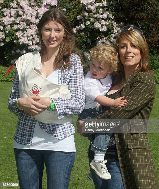 Jools Oliver and Fay Ripley launch The Big Toddle 2009 at Kenwood House on May 21 2009 in London England