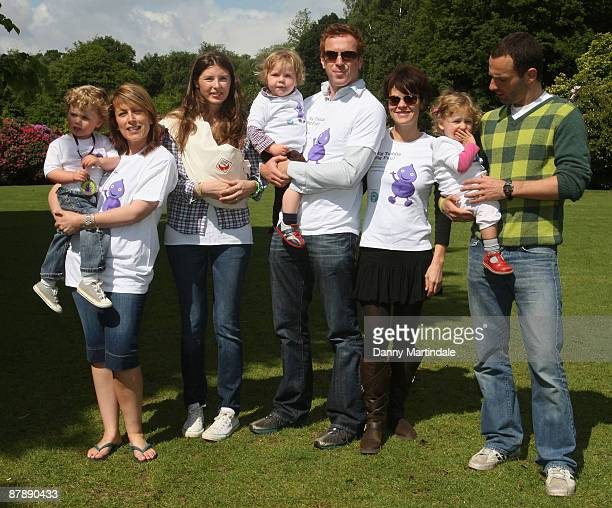 Jools Oliver Andrew Lincoln Fay Ripley Helen McCrory and Damien Lewis launches The Big Toddle 2009 at Kenwood House on May 21 2009 in London England