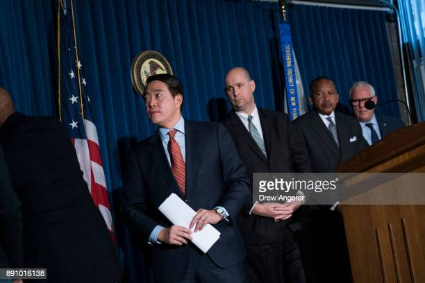 Joon Kim acting US attorney for the Southern District of New York William Sweeney assistant directorincharge of the New York office of the Federal...