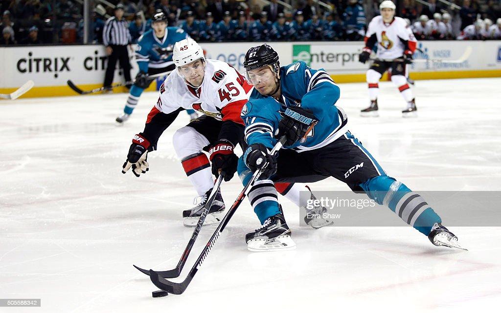 Ottawa Senators v San Jose Sharks : News Photo
