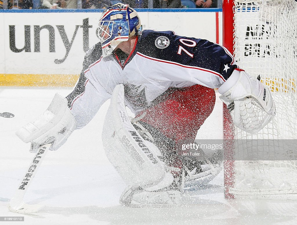 Columbus Blue Jackets v Buffalo Sabres : News Photo