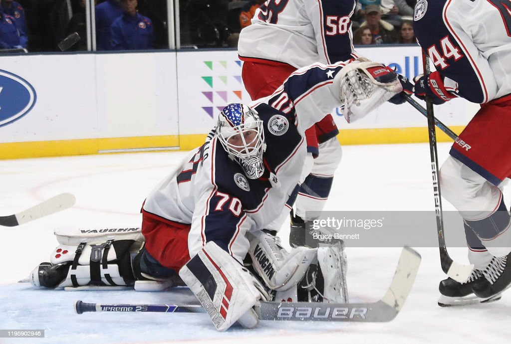 Columbus Blue Jackets v New York Islanders : News Photo