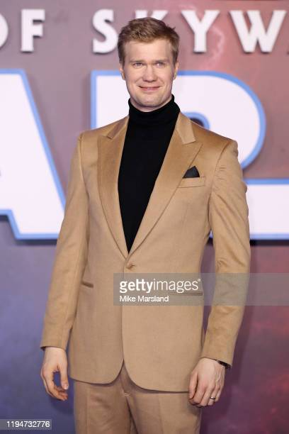 Joonas Suotamo attends Star Wars The Rise of Skywalker European Premiere at Cineworld Leicester Square on December 18 2019 in London England