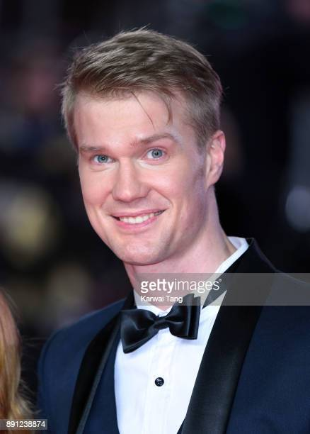 Joonas Suotamo attends the European Premiere of 'Star Wars The Last Jedi' at Royal Albert Hall on December 12 2017 in London England