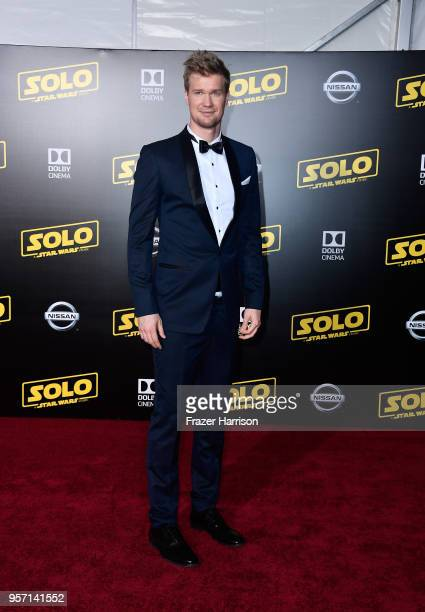 Joonas Suotamo attends the premiere of Disney Pictures and Lucasfilm's Solo A Star Wars Story at the El Capitan Theatre on May 10 2018 in Los Angeles...
