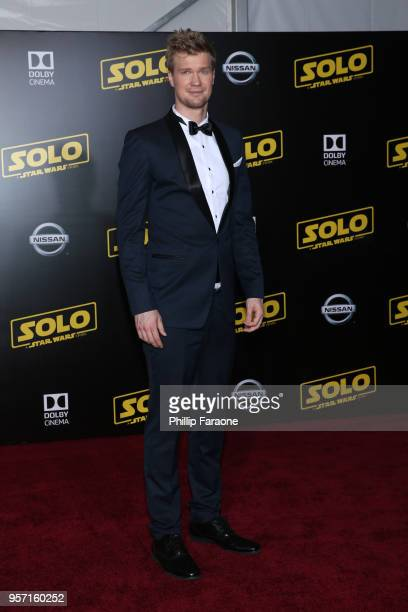 "Joonas Suotamo attends the premiere of Disney Pictures and Lucasfilm's ""Solo: A Star Wars Story"" at the El Capitan Theatre on May 10, 2018 in..."