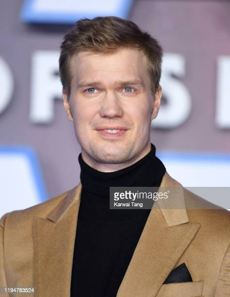 Joonas Suotamo attends the Star Wars The Rise of Skywalker European Premiere at Cineworld Leicester Square on December 18 2019 in London England