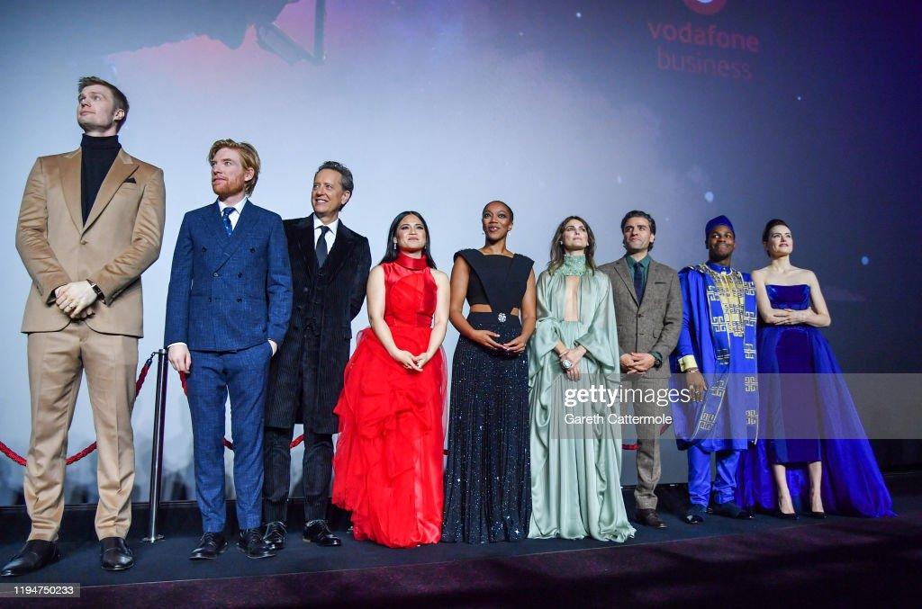 "European Premiere of ""Star Wars: The Rise of Skywalker"" : News Photo"