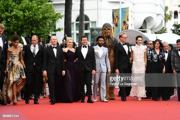 Joonas Suotamo Woody Harrelson Ron Howard Emilia Clarke Alden Ehrenreich Donald Glover Chewbacca Paul Bettany Phoebe WallerBridge Kathleen Kennedy...