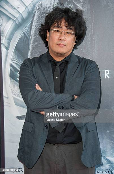 Joonho Bong arrives at the 2014 Los Angeles Film Festival Opening Night Premiere Of Snowpiercer at Regal Cinemas LA Live on June 11 2014 in Los...