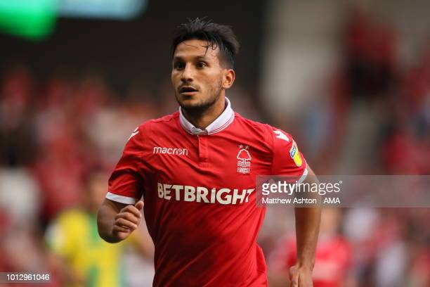 Jooo Carvalho of Nottingham Forest during the Sky Bet Championship match between Nottingham Forest v West Bromwich Albion at City Ground on August 7...