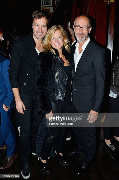 Joost de Muinck Alison Jackson and Stefano Pasinot at Tommy Hilfiger Celebrates the Launch of His Memoir 'American Dreamer My Life in Fashion...