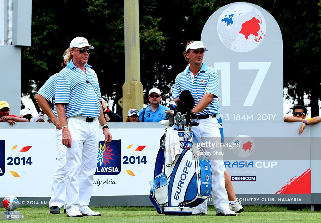 EurAsia Cup presented by DRB-HICOM - Day Two : News Photo