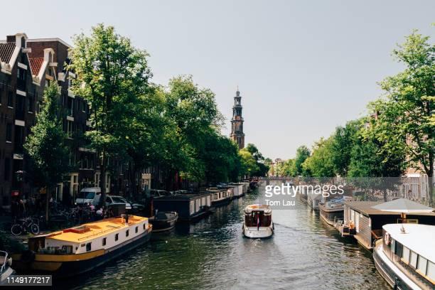 jordaan, amsterdam, netherlands - 時計台 ストックフォトと画像