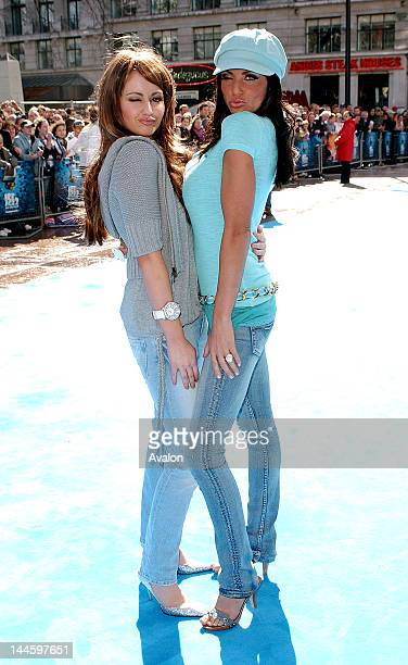 Jordan aka Katie Price and her Sister Sophie attending Ice Age 2 The Meltdown Premiere Empire Leicester Square London April 3 2006 Job 11473