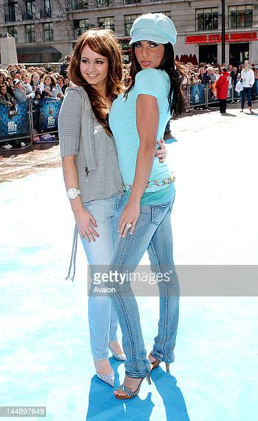 Jordan aka Katie Price and Sister Sophie attending Ice Age 2 The Meltdown Premiere Empire Leicester Square London April 3 2006 Job 11473