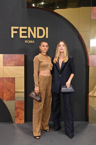 ITA: Fendi Spring Summer 2022-  Milan Fashion Week – arrivals