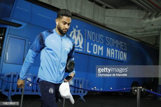 Jordan Amavi at Stade Velodrome on January 13 2019 in Marseille France