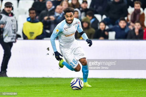 Jordan Amavi of Marseille during the French League Cup match between Marseille and Strasbourg at Stade Velodrome on December 19 2018 in Marseille...