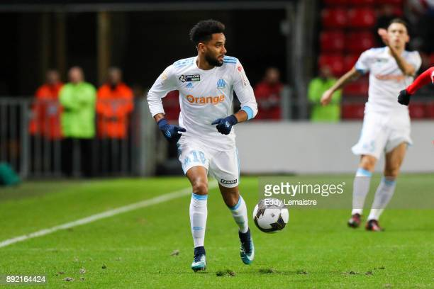 Jordan Amavi of Marseille during the french League Cup match Round of 16 between Rennes and Marseille on December 13 2017 in Rennes France