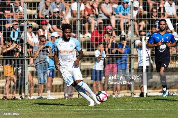 Jordan Amavi of Marseille during the Friendly match between Marseille and Beziers on July 11 2018 in Montpellier France
