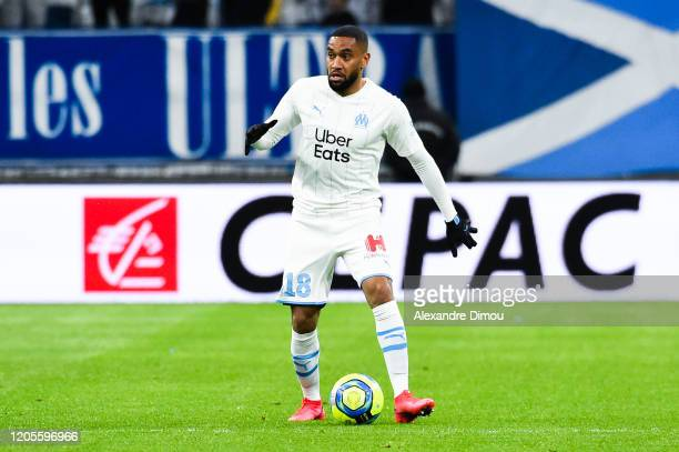 Jordan AMAVI of Marseille during the Ligue 1 match between Marseille and Amiens at Stade Velodrome on March 6, 2020 in Marseille, France.