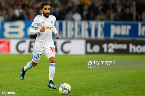 Jordan Amavi of Marseille during the Ligue 1 match between Olympique Marseille and SM Caen at Stade Velodrome on November 5 2017 in Marseille
