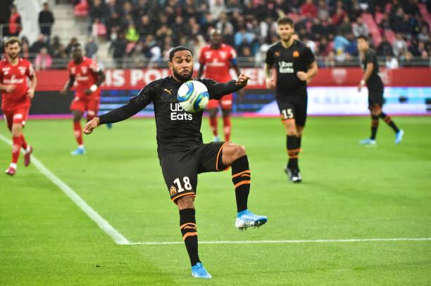 Championnat de France de football LIGUE 1 2018-2019-2020 - Page 28 Jordan-amavi-of-om-during-the-ligue-1-match-between-dijon-and-on-24-picture-id1170789053?k=6&m=1170789053&s=612x612&w=0&h=nCV7Rs7k-omxujwqurQIp5KDW2EImwByhLZi5NkPlN8=