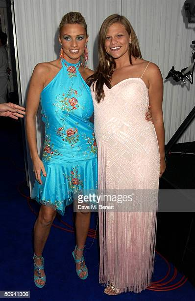 """Jordan and Jade Goody attend """"Glamour Magazine's Women Of The Year Awards"""" celebrating achievements of women at Berkeley Square Gardens, on June 8,..."""