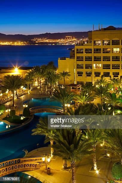 Jordan, Aqaba, Red Sea and Intercontinental Hotel