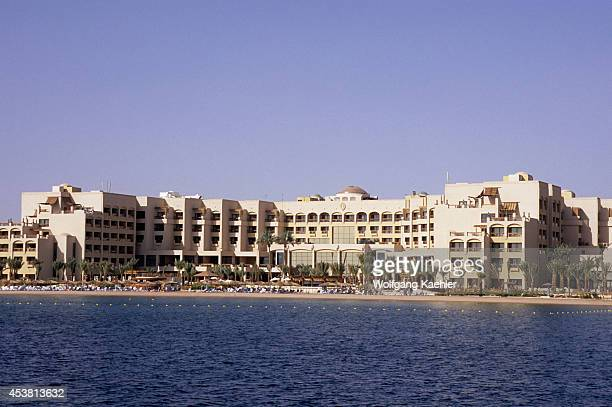 Jordan Aqaba Red Sea View Of Intercontinental Hotel