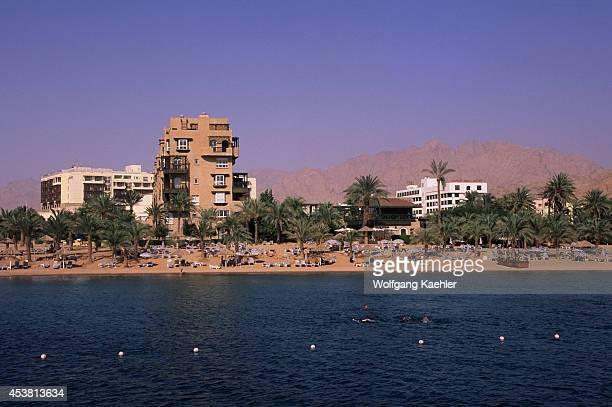 Jordan Aqaba Red Sea View Of Resort