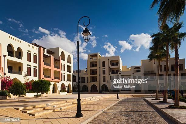 Jordan, Aqaba, Tala Harbor development, buildings