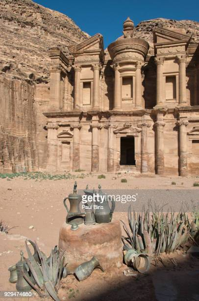 Jordan, Archeological site of Petra, the Deir, also called Monastery, Jordan