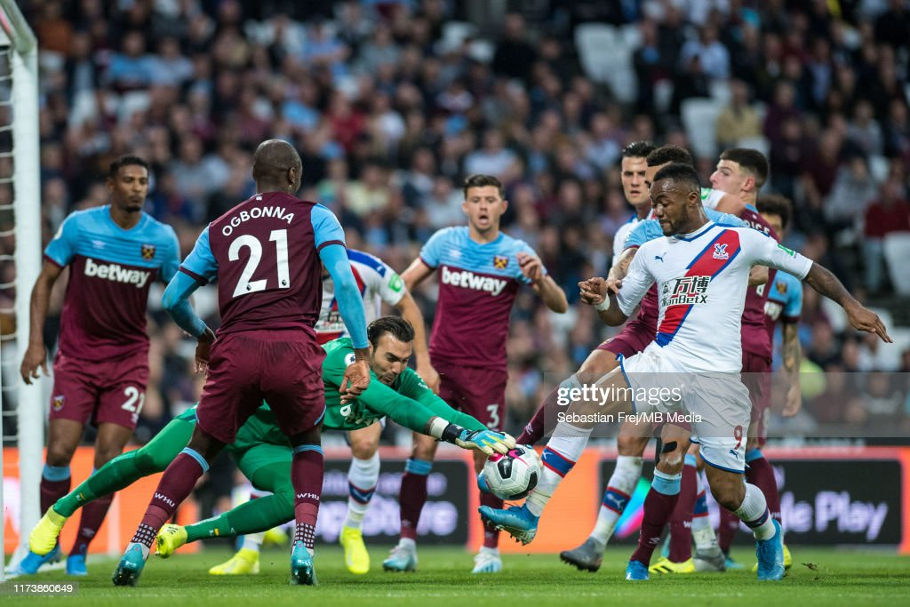 West Ham United v Crystal Palace - Premier League : Nachrichtenfoto