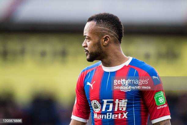 Jordan Ayew of Crystal Palace during the Premier League match between Crystal Palace and Watford FC at Selhurst Park on March 7 2020 in London United...
