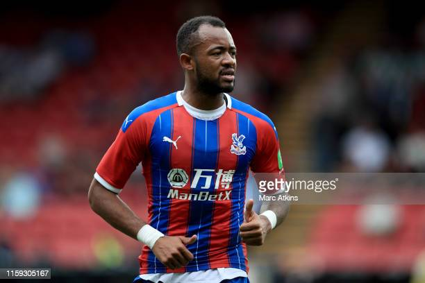 Jordan Ayew of Crystal Palace during the PreSeason Friendly match between Crystal Palace and Hertha BSC Berlin at Selhurst Park on August 3 2019 in...