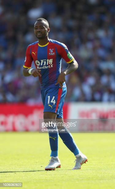 Jordan Ayew of Crystal Palace in action during the Premier League match between Crystal Palace and Southampton FC at Selhurst Park on September 1...