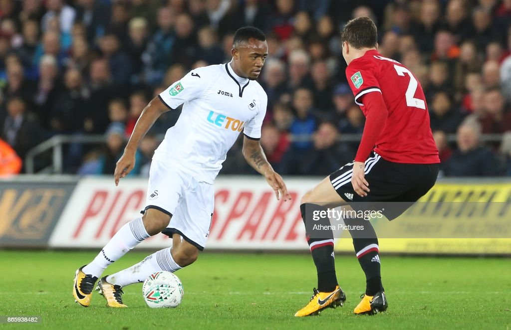 Swansea City v Manchester United - Carabao Cup Fourth Round : News Photo