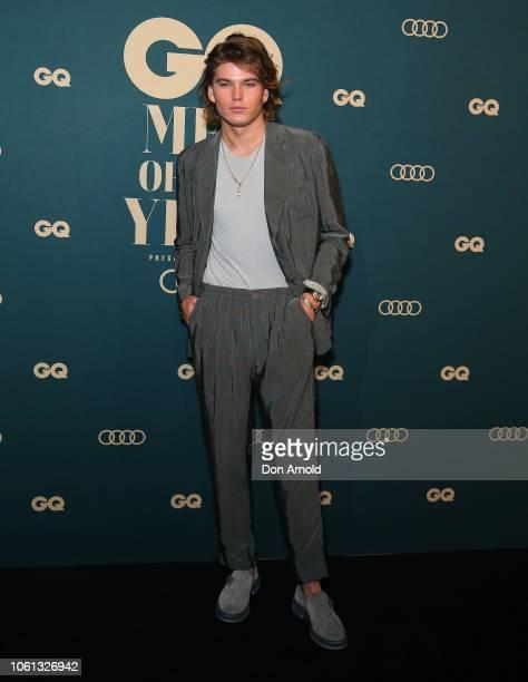 Jordan Barrett attends the GQ Australia Men of The Year Awards at The Star on November 14 2018 in Sydney Australia