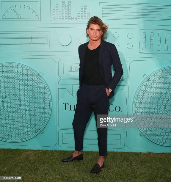 301aedb08e1699 Jordan Barrett attends the Tiffany Co Start of Summer Party on November 22  2018 in Sydney