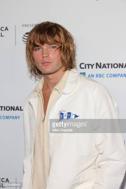 """Jordan Barrett attends the """"Untitled: Dave Chappelle Documentary"""" Premiere during the 2021 Tribeca Festival at Radio City Music Hall on June 19, 2021..."""
