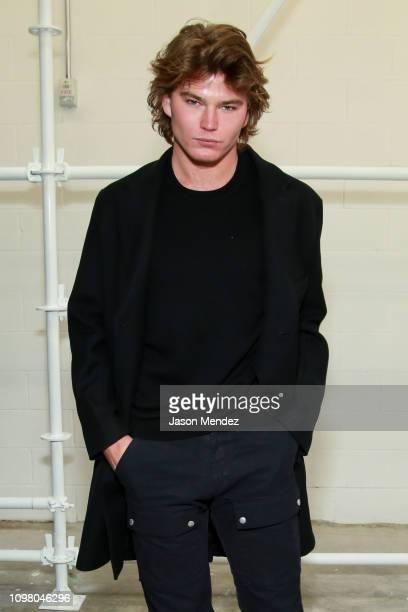 Jordan Barrett on February 11 2019 in New York City