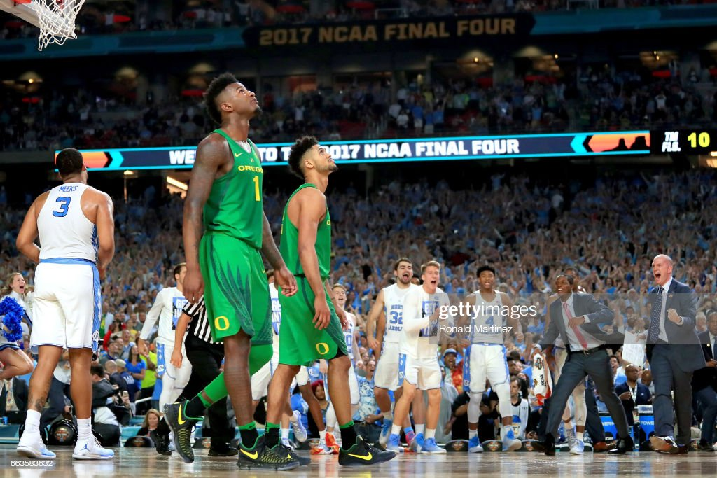 Oregon v North Carolina : News Photo
