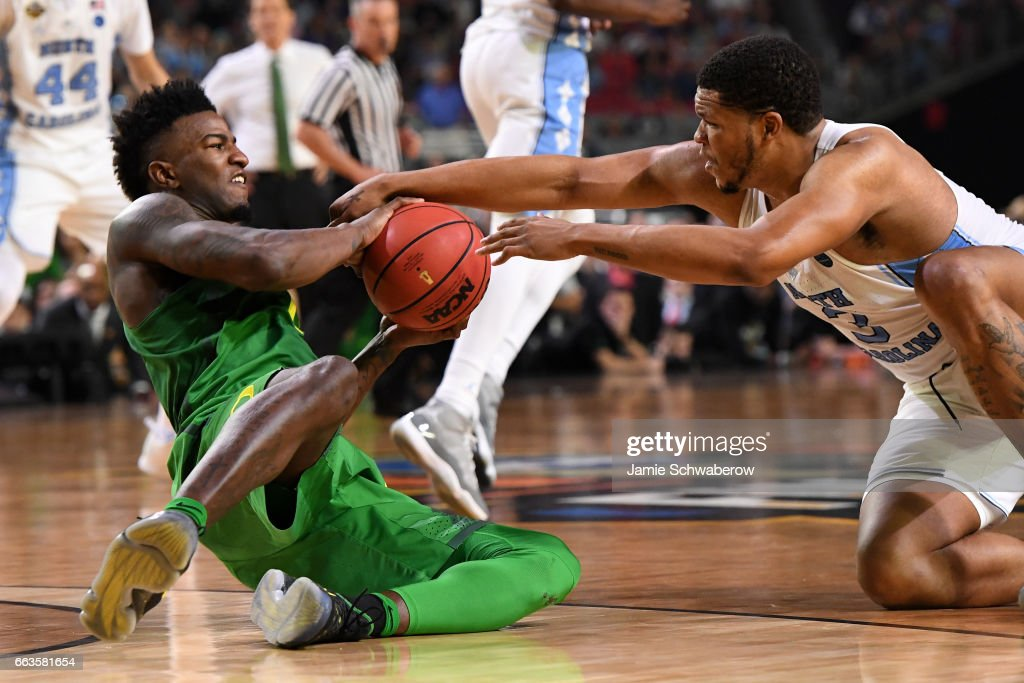NCAA Men's Final Four - Oregon v North Carolina : News Photo
