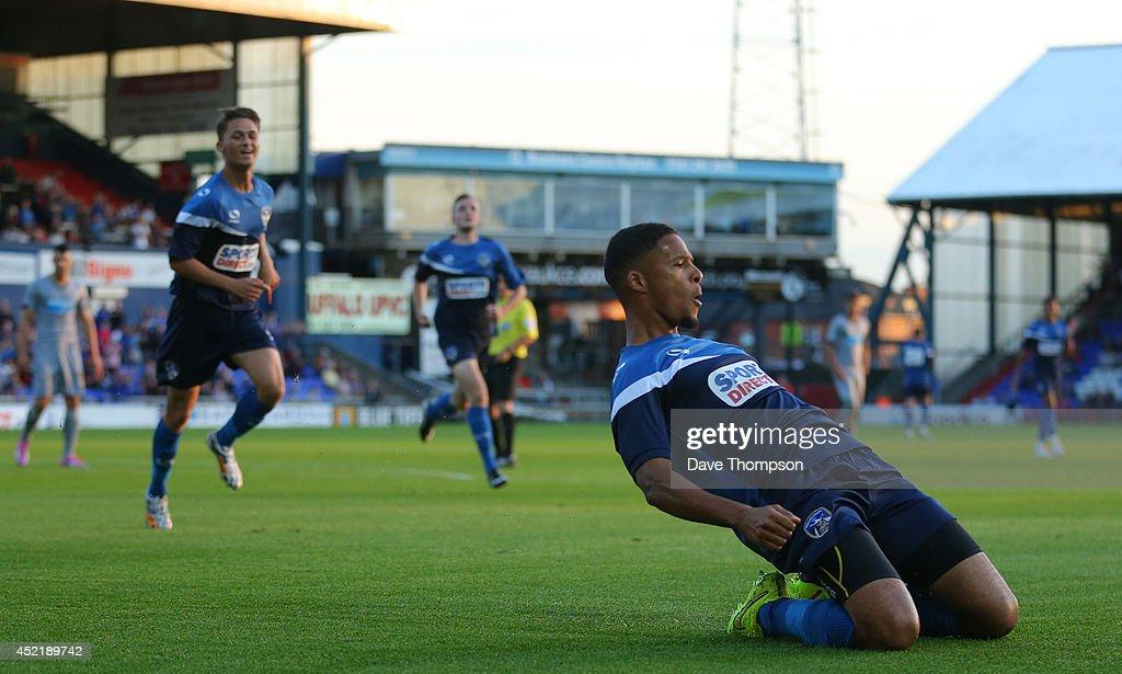 Oldham Athletic v Newcastle United - Pre Season Friendly : News Photo