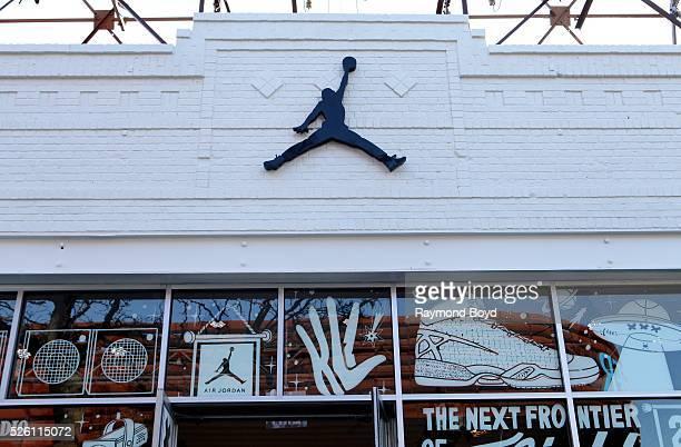 Jordan Brand boutique in Brooklyn New York on April 15 2016