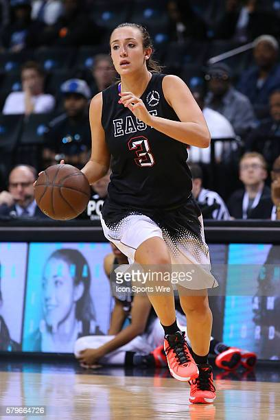 Jordan Brand Classic East Team guard Marina Mabrey during the second half the game between the Jordan Brand Classic West Girls Team and the Jordan...