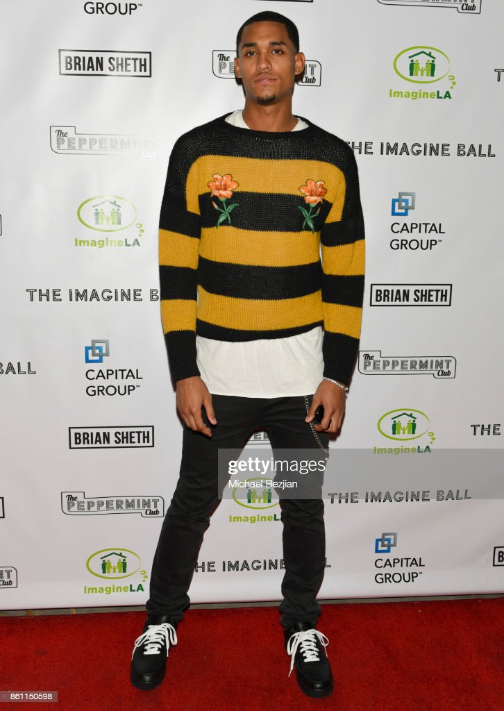 Jordan Clarkson attends The Imagine Ball 2017 on October 12, 2017 in West Hollywood, California.